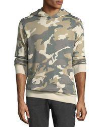 """Wesc - Men's """"mike"""" Camo Spring Fleece Sweatshirt - Lyst"""