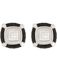 Alor - Noir Diamond Stud Earrings - Lyst