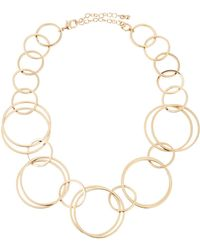 Lydell NYC - Single Strand Circle-link Necklace - Lyst