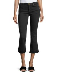 The Great - The Nerd Cropped Low-rise Jeans - Lyst