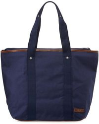 Fred Perry - Red Zip-top Canvas Tote Bag - Lyst