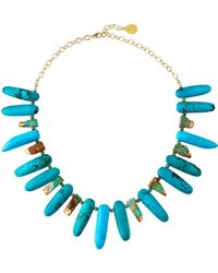 Devon Leigh - Turquoise & Copper-infused Necklace - Lyst