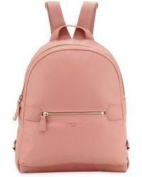 237f47d3ea34 Lyst - Longchamp 3d Small Leather Backpack in Blue