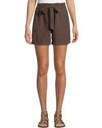 Sanctuary - Muse Paperbag Tie-waist Shorts - Lyst