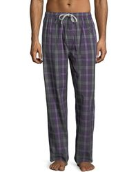 Psycho Bunny - Woven Lounge Pants With Logo - Lyst
