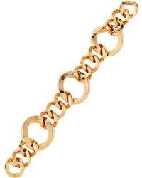 Roberto Coin - 18k Rose Three-ring Round-link Bracelet - Lyst