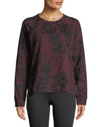 Marc New York - Bamboo-print French Terry Sweater - Lyst