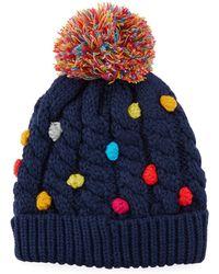 Neiman Marcus - Rainbow Knots Knit Beanie - Lyst