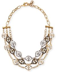 Lulu Frost - Gloria Crystal Statement Necklace - Lyst