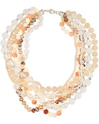 Fragments - Lucite® Twisted Statement Necklace - Lyst
