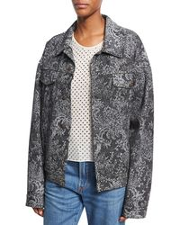 Marc Jacobs - Studded Oversized Lace Jacket - Lyst