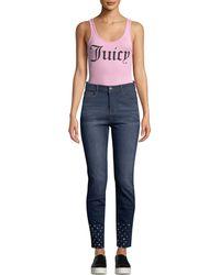 Juicy Couture - Scoop-neck Logo Bodysuit - Lyst