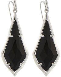 Kendra Scott Olivia Drop Earrings Black