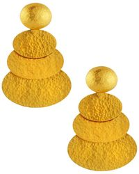 Gurhan - 24k Medium Layered Mango Drop Earrings - Lyst