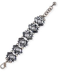 Lulu Frost Diamanda Statement Bracelet - Metallic