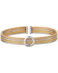 Alor Circle Cuff Bracelet Multi - Metallic