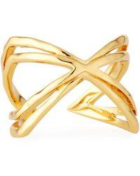 Gorjana - Skyler Crisscross Cuff Ring - Lyst