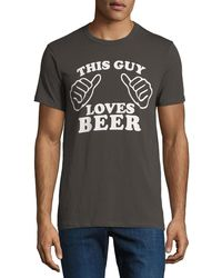 Chaser - Men's This Guy Slogan Tee - Lyst