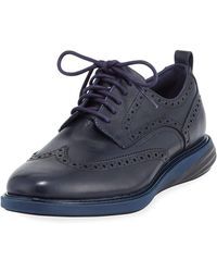 Cole Haan - Men's Grand Evolution Leather Sneaker - Lyst