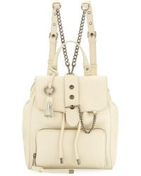 Badgley Mischka | Beulah Leather Drawstring Backpack | Lyst