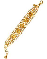 Jose & Maria Barrera Three-strand Chain Knot Bracelet - Metallic