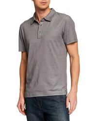 a0df89dc Lyst - Michael Kors Camo Placket Polo Shirt in Blue for Men
