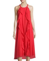 Donna Ricco Fit and Flare Dress