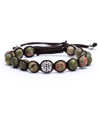 Jared Lang - Lux Beaded Cord Bracelet - Lyst