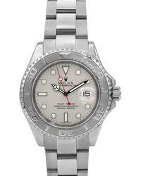 Rolex - Pre-owned Men's 40mm Yacht-master Bracelet Watch W/ Platinum Bezel - Lyst