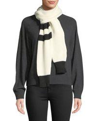 Calvin Klein - Contrast Sleeve Scarf - Lyst