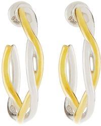 Gurhan - Hoopla Twisted Hoop Earrings - Lyst