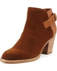Dolce Vita - Jae Leather Ankle Boot - Lyst