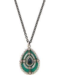 Armenta - New World Mosaic Pear Pendant Necklace - Lyst