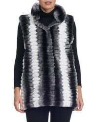 Gorski - Detachable-sleeve Fur Coat - Lyst