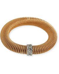 Alor Kai Coiled Bracelet Rose Golden - Multicolour
