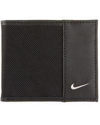 Nike - Men's Leather & Nylon Billfold - Lyst