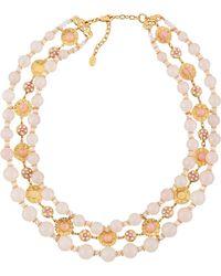 Jose & Maria Barrera - Triple-strand Collar Necklace - Lyst
