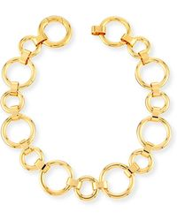 Vita Fede - Moneta Circle Link Choker Necklace - Lyst