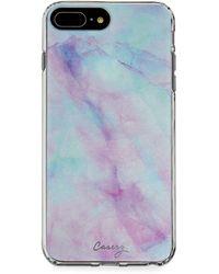 Casery Iridescent Crystal Phone Case For Iphone 6 Plus/6s Plus/7 Plus/8 Plus - Multicolor