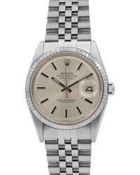 Rolex - Pre-owned Men's 36mm Datejust Jubilee Bracelet Watch - Lyst
