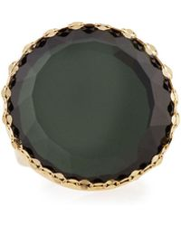 Lana Jewelry - 14k Midnight Circle Ring - Lyst