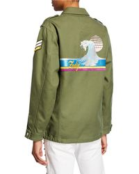 Zadig & Voltaire - Kid Brode Wave Embroidered Jacket - Lyst