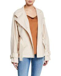 Vince - Drapey Linen Jacket - Lyst