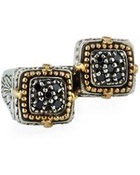 Konstantino - Black Diamond Split Ring - Lyst