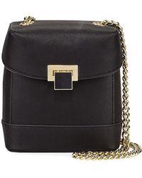 Christian Siriano Glenda Small Crossbody Box Bag - Black