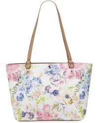 Elliott Lucca Aria Shopper Medium Tote Bag - Multicolor