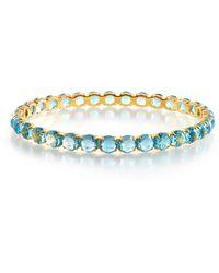 Ippolita - 18k Gold Lollipop® All Stones Bangle Swiss Blue Topaz - Lyst