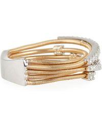 Neiman Marcus   14k Two-tone Diamond Ring   Lyst