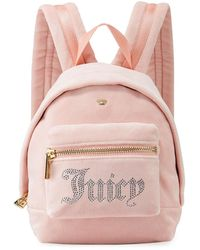 05b29b0e53 Lyst - Juicy Couture For Uo Velvet Mini Backpack in Black