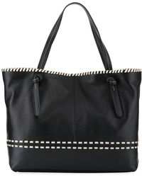 Cole Haan - Brynn Whipstitched Tote Bag - Lyst